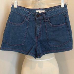 Heritage 1981 High Waisted Denim Shorts
